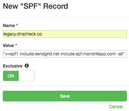 SPF Record Check